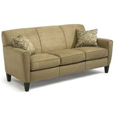 Flexsteel Digby Upholstered Sofa - Dunk & Bright Furniture - Sofa Syracuse, Liverpool, Auburn, Utica, Oswego, Watertown, and Binghamton