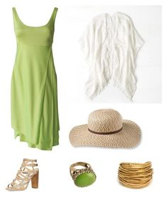 """""""Yoda"""" by tara2481 on Polyvore featuring Versace, American Eagle Outfitters, Dorothy Perkins, L.L.Bean and Barse"""