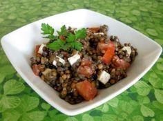 Salade de lentilles tomates et féta