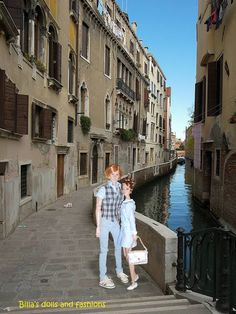 billa's dolls and fashions: The Redhead Connection presents: Strolling in Venice