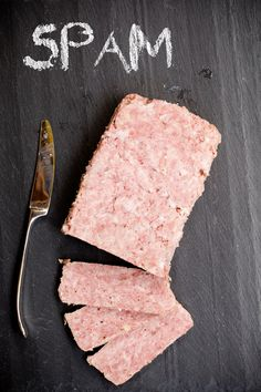 This simple process of how to make homemade spam recipe is a fresh culinary take on a canned meat source. I cannot imagine there is anyone alive that has Homemade Spam Recipe, Homemade Sausage Recipes, How To Make Homemade, Homemade Ham, Homemade Luncheon Meat Recipe, Spam Recipes, Copycat Recipes, Pork Recipes, Cooking Recipes