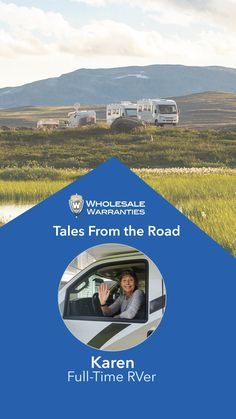 Our mission at Wholesale Warranties is to protect your RV adventures. We are constantly inspired by your tales from the road, and the time has finally come for us to highlight one such story. Karen, a solo female RVer who is traveling across the U.S. in her rig and inspiring people on the way! Karen's story is one of resilience and bravery. We hope her story inspires you to explore without fear and boundaries. A special thank you to Karen for letting us share her story! Inspiring People, Rv Life, Highlight, Traveling, Explore, Adventure, Inspired, Female, Lights