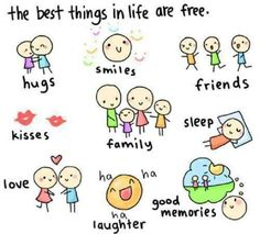The Best Things In Life Are Free - The Best Things In Life Are Free - Citate - the best things in life are free Cute Quotes For Life, Love Quotes, Inspirational Quotes, Quotes Pics, Random Quotes, Free Things, Good Things, Random Things, Simple Things