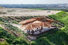 Tel Aviv's notorious 'Garbage Mountain', the Hiriya landfill is being transformed into the world's largest recycling park.