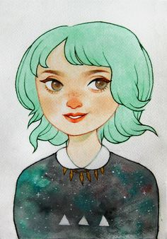 Portrait Giveaway by ~ameliadolezal on deviantART