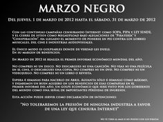 Marzo Negro.