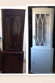 Before and after using valspar then water based varnish