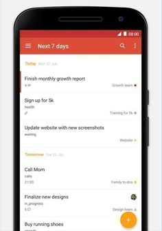 "If your life runs on to do lists, use Todoist (free, <a href=""https://itunes.apple.com/us/app/todoist-to-do-list-task-manager/id572688855"" target=""_blank"">iOS</a>, <a href=""https://play.google.com/store/apps/details?id=com.todoist"" target=""_blank"">Android</a>), a powerful task management tool."