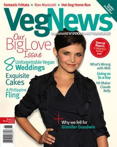 Veg News Magazine. I love their website, I love the magazine. All things veg will be found here. This is my holy book.