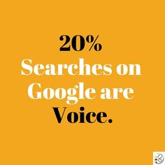 """Is your site optimized for voice search? Google predicts 50% of searches will be voice searches in 2020. With devices such as Alexa, Echo and others, more and more people are talking to their devices. This is really critical for local businesses- people tend to search by voice for local restaurants, things to do, directions, phone numbers and more. This means searches are shifting from """"Scottsdale pizza"""" to """"Where is the closest pizza?"""" Combat this by including an FAQ page on your site with… Google Voice, Alexa Echo, Search Engine, The Voice, Restaurants, Numbers, Study, Positivity, Studio"""