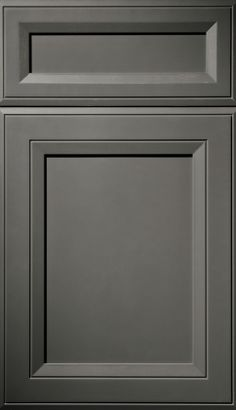 Full Overlay, Door Styles | Plain & Fancy Custom Cabinetry - Love the charcoal, but White is classic