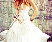 Off White Leno Long Dress, Heavenly Beautiful and so Comfortable
