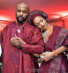 We can't get enough of Banky & Susu This two are so adorable. African Wedding Attire, African Attire, African Wear, African Women, African Dress, African Weddings, African Kids, Nigerian Weddings, African Beauty