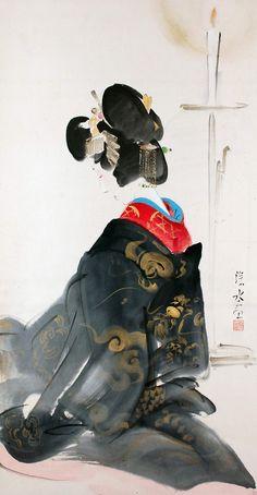 Itō Shinsui, Tayu (Prostitute)