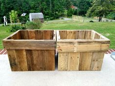 Pallet Planter Boxes - 30 Pallet Projects That Will Make You Fall in Love | 99 Pallets - Part 5