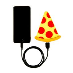 A portable phone charger to make you feel a little better when your phone dies out of nowhere. | 29 Products For When Pizza Is Actually Your Soulmate