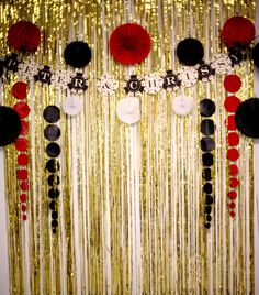 Photobooth Backdrop - Casino Theme Couple's Shower