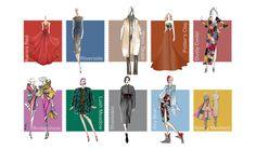 Pantone Mode Trendfarben für den Herbst 2016