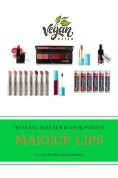 Make your lips glow with vegan products