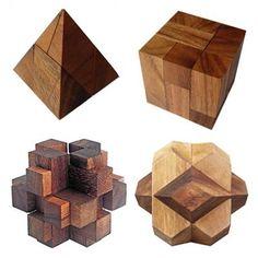 3d Wooden Puzzle Solutions TruckTough Wooden Puzzles, Wooden Toys, Woodworking Techniques, Puzzles, Wooden Toy Plans, Wood Toys, Woodworking Toys
