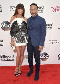 Chrissy Teigen and John Legend | All The Looks From The Billboard Music Awards Red Carpet