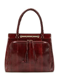 All I can say is WOW! Watersnake Satchel by Valentino on @Gilt #GiftMe