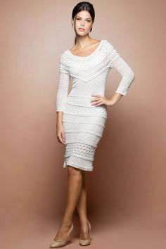 Бело-Poupee-крючком-Dress_1