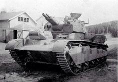 Krupp's Neubaufahrzeug from the mid 30's was the very beginning of heavy tanks for the Panzerwaffe.