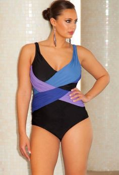 c47af5c282b00 Infinity Blu Crossover Swimsuit Women s Swimsuit « Clothing Impulse Romper  Swimsuit