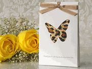 If you love butterflies this sachet is so cute for a bridal shower or special birthday favor