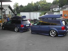 Passat wagon & trailer