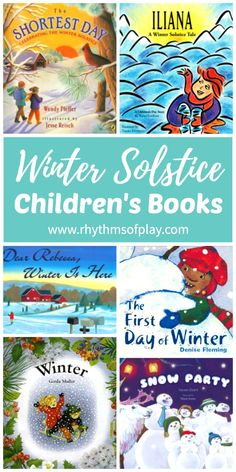 Each of these winter solstice books for kids shares something about the winter solstice, the shortest day of the year. These celebration ideas and short stories will help children learn about and begin to understand the cyclical nature of the seasons and