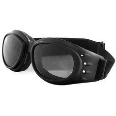 5e4baf8a83 Half Helmet   Goggles - A different experience!