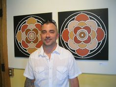 The Hemisphere canvases at the Chaffee Art Center in Rutland, Vermont.    http://www.briansylvesterart.com/