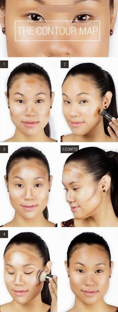 Map the contours of your face with a gel eyebrow p...