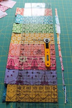 Fabulously Fast Blog Tour 01: Cutting, sewing, marking tips