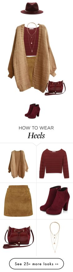 """""""In love with this combo !"""" by azzra on Polyvore featuring Motel, Rebecca Minkoff, M&Co, rag & bone, H&M and microminis"""