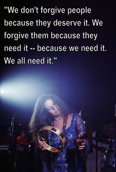 A quote on forgiveness