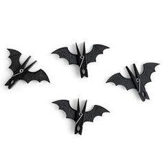 Cute Bat Chip Clips for Halloween! by KiloLinsey