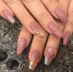 Matte and rose gold