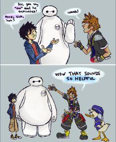 Big Hero 6 + Kingdom Hearts