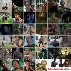 The many faces of Daryl Dixon