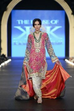 Pakistani designer - The House of Kamiar Rokni