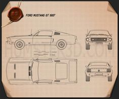 The blueprints cars ford ford for Garage ford peronne 80