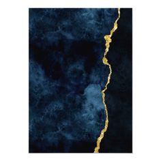 Gold Leaf Art, Gold Art, Painted Leaves, Hand Painted, Diy Canvas Art, Resin Art, Gold Foil, Blue Gold, Art Inspo