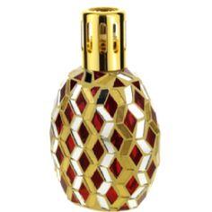 MILLEFIORI MILANO Gold Scarlet Mosaic Catalytic Diffuser $29.99