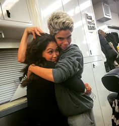 Dianne Doan and Cameron Boyce