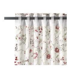 INGMARIE Curtains with tie-backs, 1 pair, multicolor multicolor 57x98