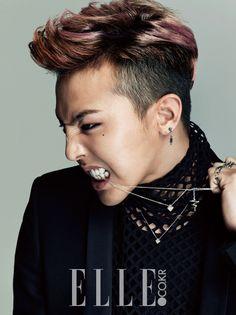 G-Dragon: Elle February, 2014