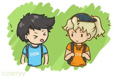 "Percabeth 1. Annabeth, we know you´re thinking ""Aww, he´s cute"""